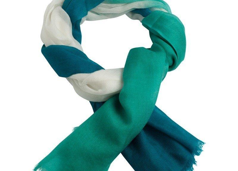 Udvid garderoben med farvede tørklæder